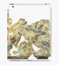 ancient greek fresco iPad Case/Skin