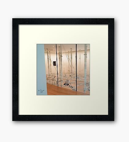 accessible route Framed Print