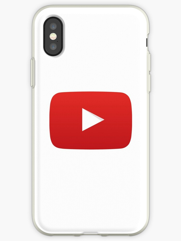 Youtube Play Button Youtube Logo Iphone Cases Covers By Dae