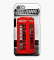 Telephone box iPhone Case/Skin