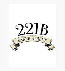 221B Baker Street Photographic Print