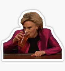 Kate McKinnon as HRC Sticker