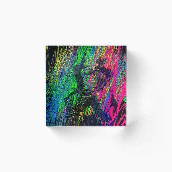 Ciel Rainbow Acrylic Block