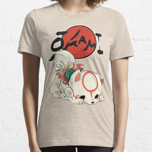 Okami Amaterasu chibi Essential T-Shirt