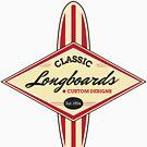 Classic Longboards Custom Surfboards by pjwuebker