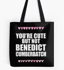 Cute but not Benedict Cumberbatch Tote Bag