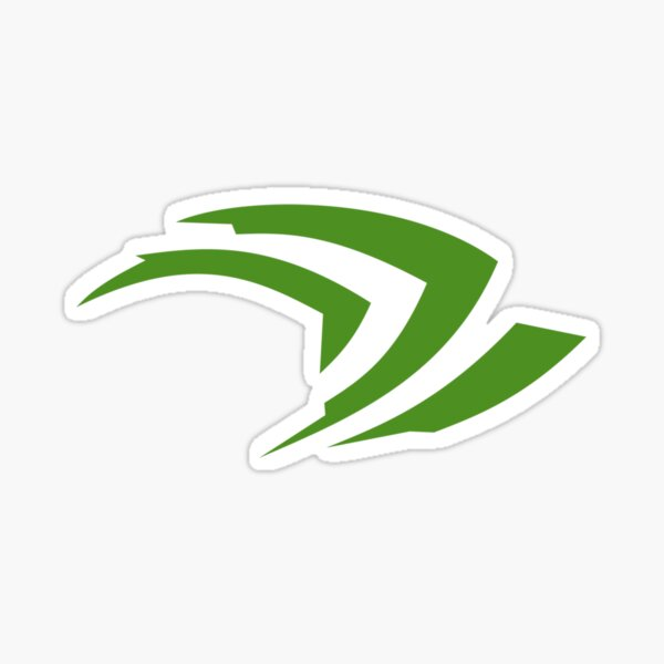 Nvidia Logo Sticker
