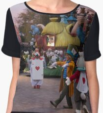 Mad Hatter's Tea Party Chiffon Top