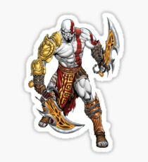 war of god Sticker