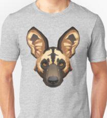 Wild Dog Portrait Unisex T-Shirt