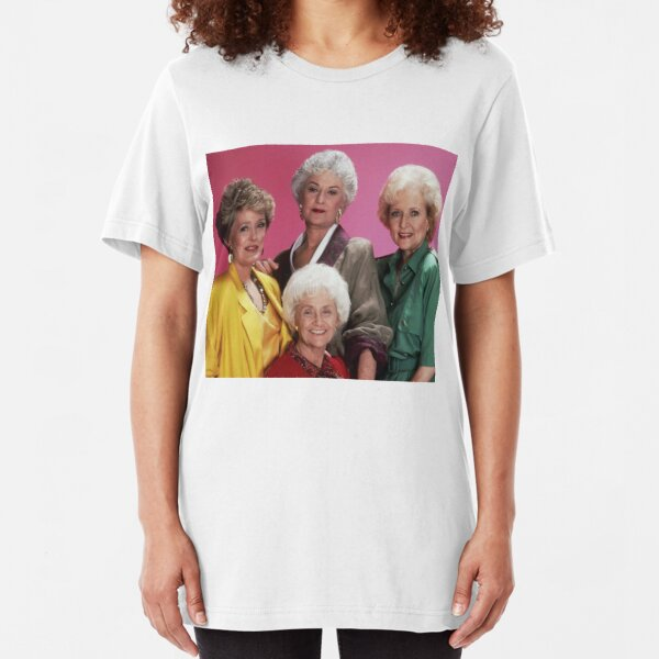 Classic Golden Girls Slim Fit T-Shirt