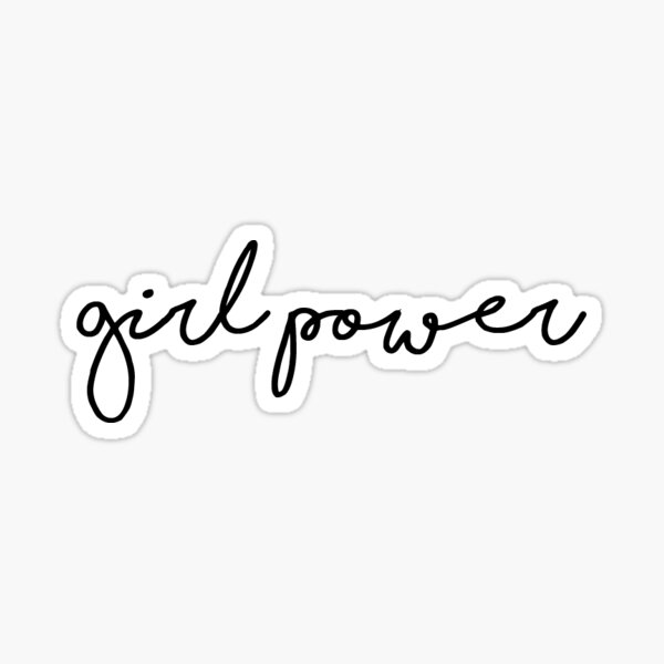 Girl Power 1 Sticker