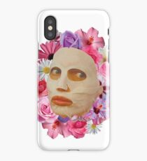 Alyssa Edwards Beauty Mask With Flowers - Rupaul's Drag Race All Stars 2  iPhone Case