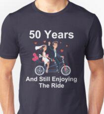 50th Anniversary TShirt 50 Years And Still Enjoying The Ride T-Shirt