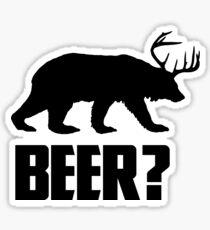Beer, Bear? Sticker