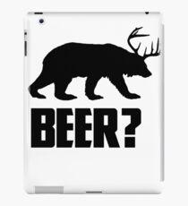 Beer, Bear? iPad Case/Skin