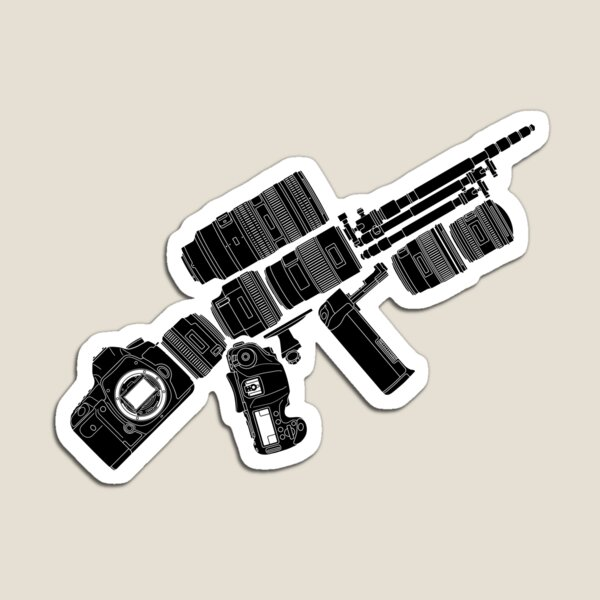 Camera Weapon Magnet