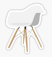 Eames Molded Plastic Armchair (DAW) Sticker