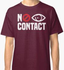 No Eye Contact - Cancel Sign Anti-Social Person Classic T-Shirt