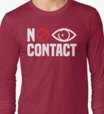 No Eye Contact - Cancel Sign Anti-Social Person T-Shirt