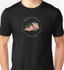 Tropicana Lounge Night Club Tropical Hula Girl 2 T-Shirt