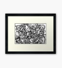 The Moopits Framed Print