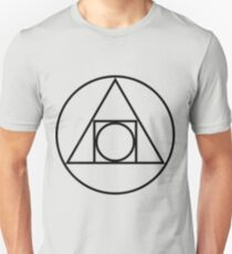 Philosophers Stone Alchemical Symbol Unisex T-Shirt