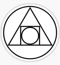 Philosophers Stone Alchemical Symbol Sticker