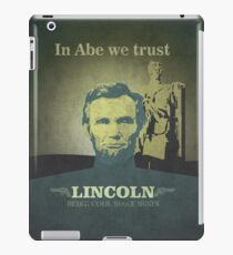 Lincoln, being cool since 1800's iPad Case/Skin