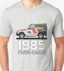 Three Diamond Pajero Turbo 1985 Rally Paris Dakar Winner T-Shirt