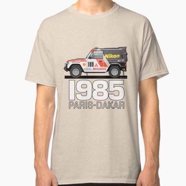 Three Diamond Pajero Turbo 1985 Rally Paris Dakar Winner Classic T-Shirt