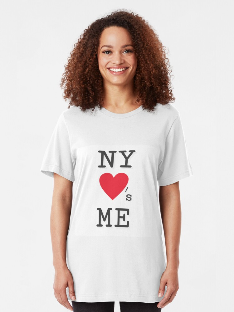 Alternate view of NY Loves Me Slim Fit T-Shirt