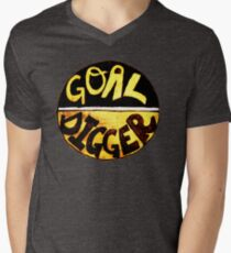 Goal Digger Mens V-Neck T-Shirt