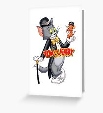 tom & Jerry  Greeting Card