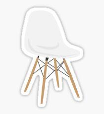 Eames DSW Chair Sticker