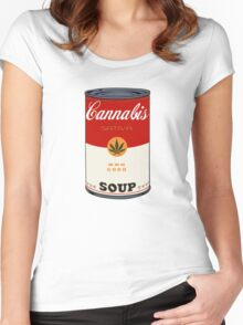 CANnabis Women's Fitted Scoop T-Shirt