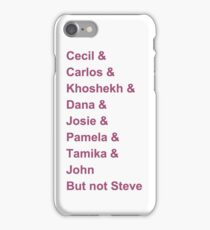 Welcome To Nightvale Character List iPhone Case/Skin