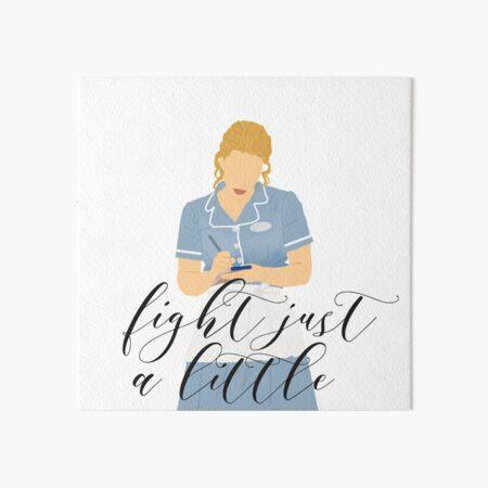 Waitress - Fight just a little Art Board Print