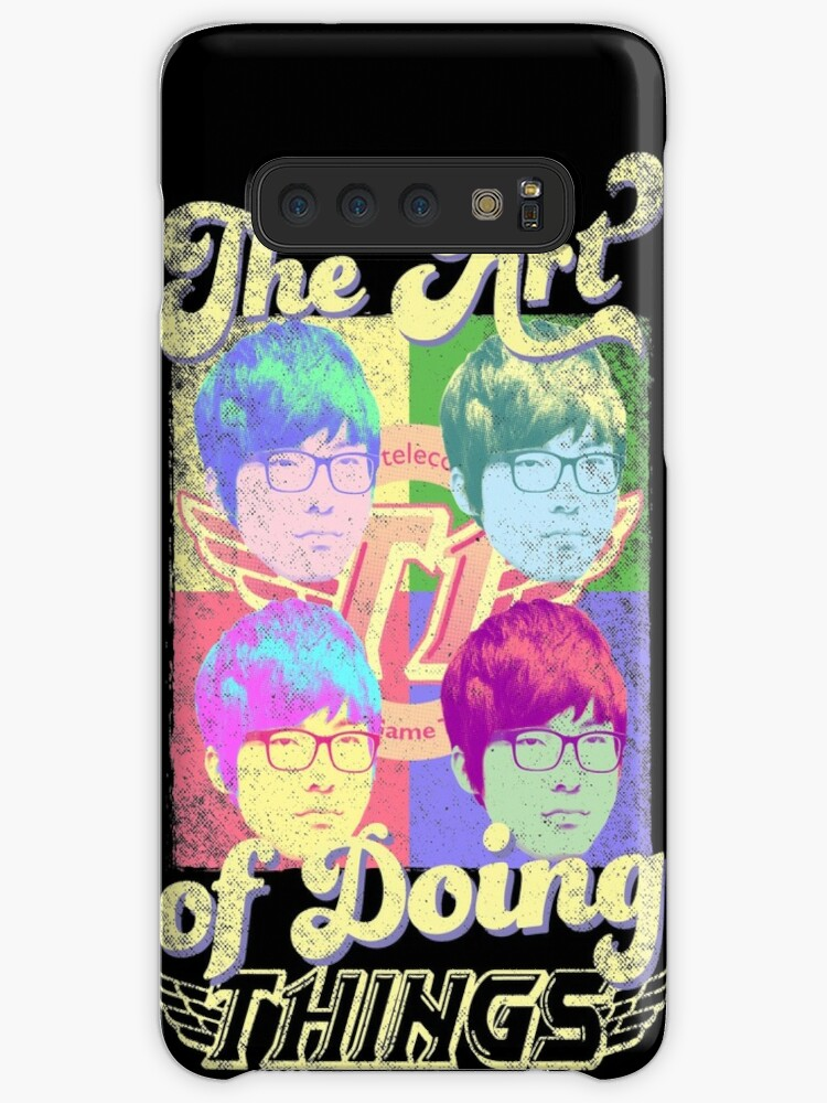'The art of doing things (SKT T1 Faker)' Case/Skin for Samsung Galaxy by  Datsik