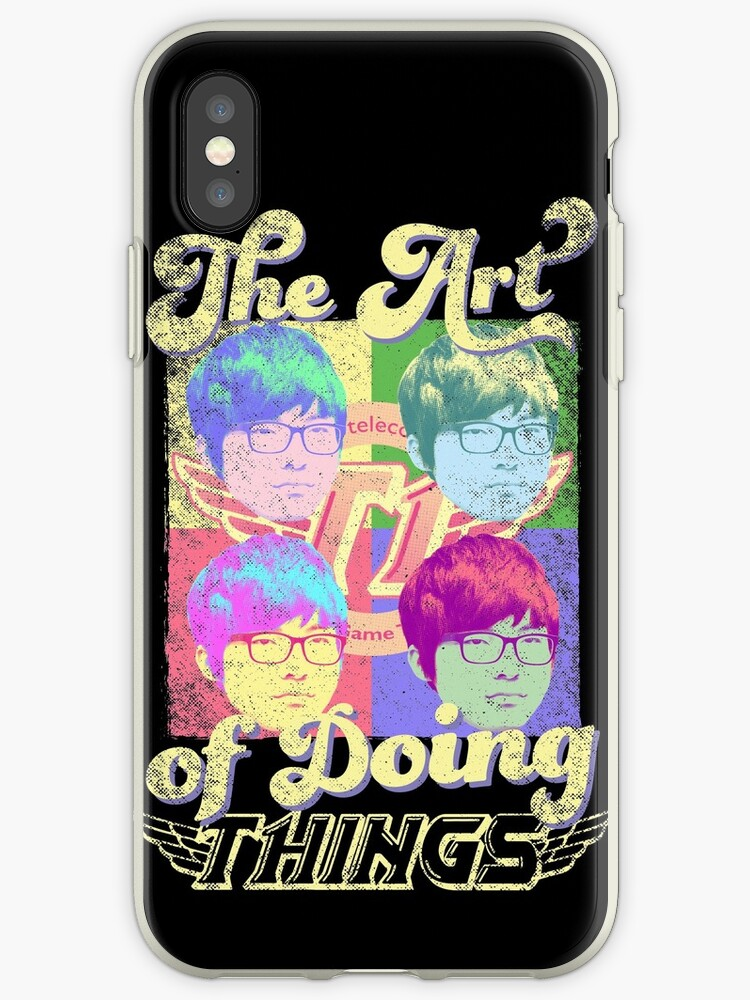 'The art of doing things (SKT T1 Faker)' iPhone Case by Datsik