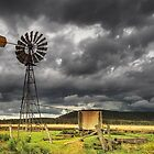 Storms on the Downs - Near Toowoomba Qld Australia by Beth  Wode