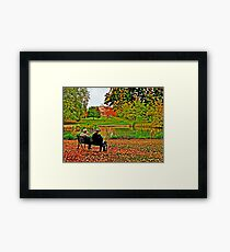 Autumn of Their Years Framed Print