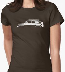 4x4 vehicle Silhouette - FJ Women's Fitted T-Shirt
