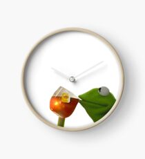 But That's None Of My Business Clock