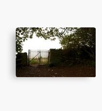 Gate to the Outwoods Canvas Print