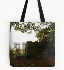 Gate to the Outwoods Tote Bag