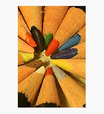 Circle of Color Photographic Print