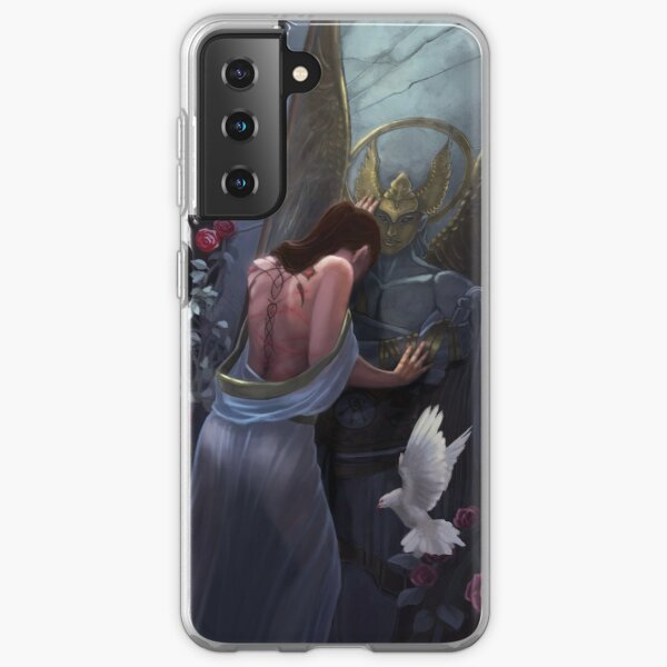 Kushiels Dart Phedre at the Temple of the Angel of Punishment Samsung Galaxy Soft Case
