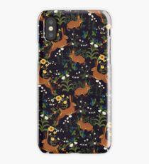 Rabbit Garden iPhone Case/Skin