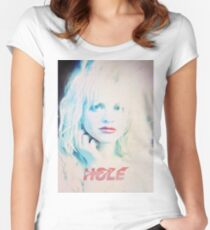 Pretty on the Inside (Hole) Women's Fitted Scoop T-Shirt